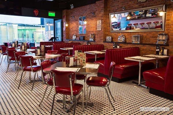 The Diner - Hong Kong by New Retro Design.com