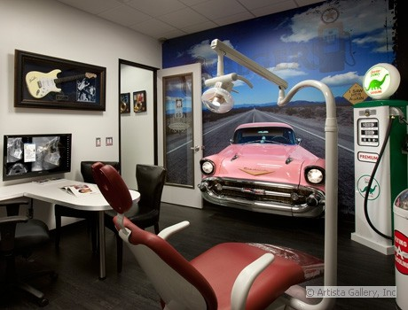 Retro Destist Office by New Retro Cars